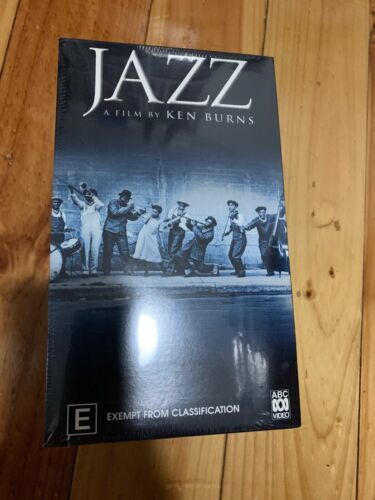 JAZZ A FLIM BY KEN BURNS 1-10 VHS TAPES Brand New Sealed