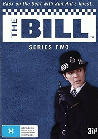 The Bill: Series 2 (DVD, 3-Disc Set) 1985-1986 Genuine New Sealed Aus All Region