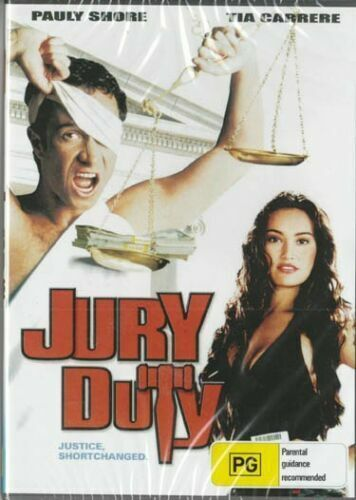 Jury Duty DVD Pauly Shore New Sealed Australia All Regions