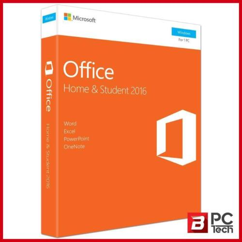 Microsoft Office 2016 Home and Student - Medialess Retail