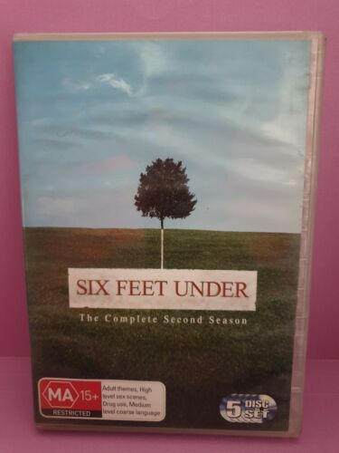 Six Feet Under - The. Complete Second Season🎬 DVD 🎬 FREE POST