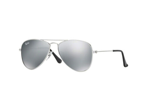 Occhiali da Sole Ray-Ban Autentici RJ9506S JUNIOR AVIATOR argento mirror 212/6G