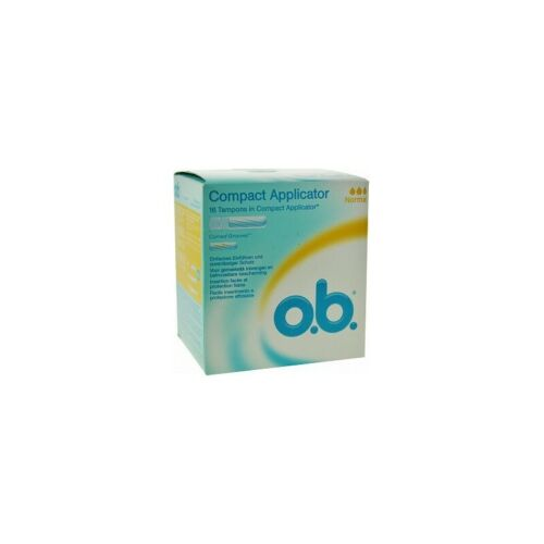 O.B. Tampons With Applicator Normal 16 Tampons