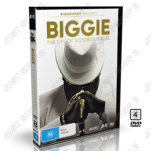 BIGGIE The Life Of The Notorious B.I.G DVD : Brand New : R4