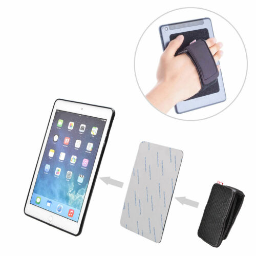 DIY Detachable Padded Hand-Strap Fastening Tape Adhesive Patch Tablets Holder