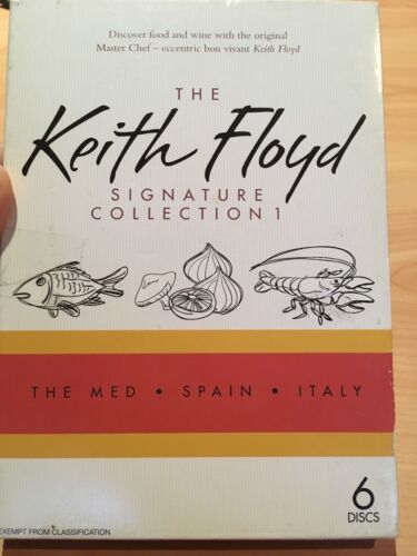 The Keith Floyd Signature Collection 1 DVD The Med, Spain, Italy, Aus Region 4