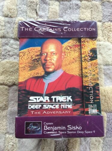 STAR TREK: THE CAPTAIN'S COLLECTION (4-Tape Box Set, VHS, Free Postage)