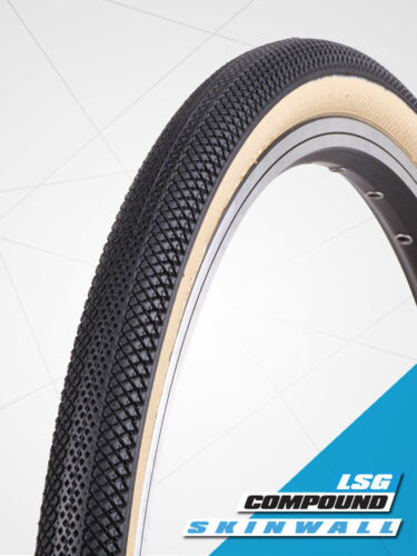 """BMX Tire from Vee 20 x 1.95"""" Speedster Foldable Tyre suit 406mm (S-Wall Gum)"""