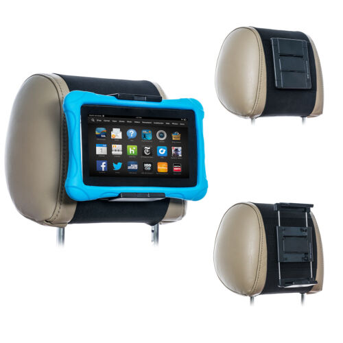 TFY Universal Car Headrest Mount Holder for 7 - 10 Inch Kindle Fire Tablets