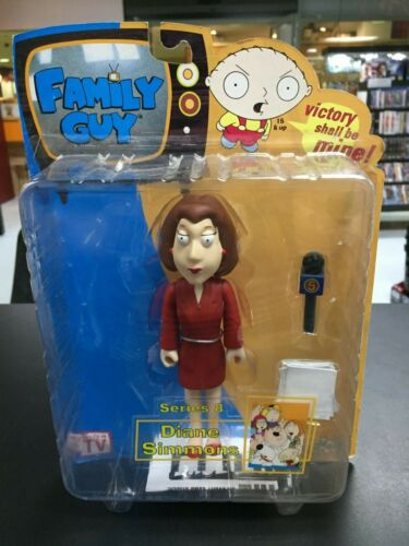 Diane Simmons Family Guy Series 8 Action Figure - Sealed on Card Good Condition
