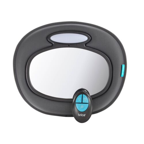 Brica Baby Infant Car Back Seat Rear ward Facing Musical Mirror