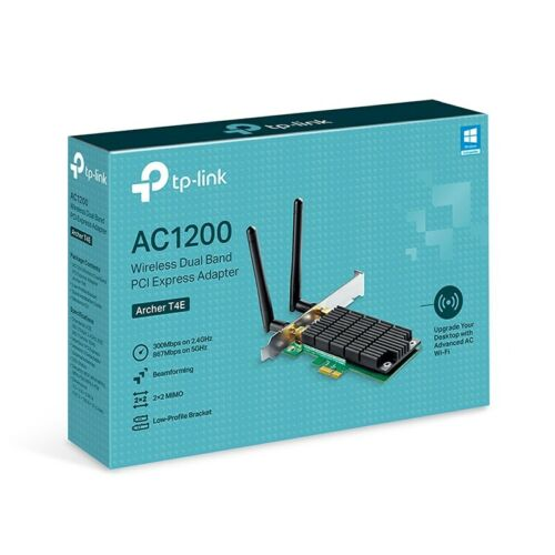 TP-Link Archer T4E AC1200 Wireless Dual Band PCI Express WiFi Network Card