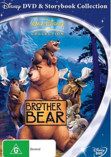 Brother Bear (Disney) dvd and storybook collection. NEW and Sealed
