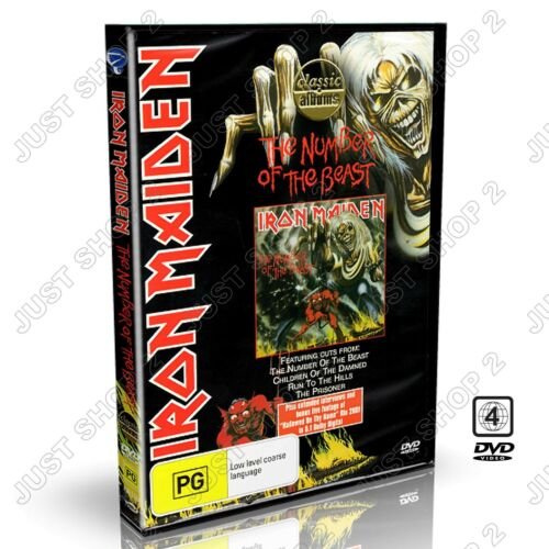 Iron Maiden - The Number Of The Beast DVD : Heavy Metal : New