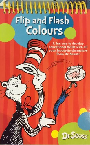 Dr . Seuss :Flip And Flash Colours Book New