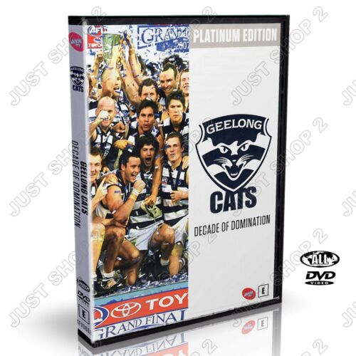 AFL Geelong Cats Decade Of Domination : Platinum Edition : New DVD (RARE)