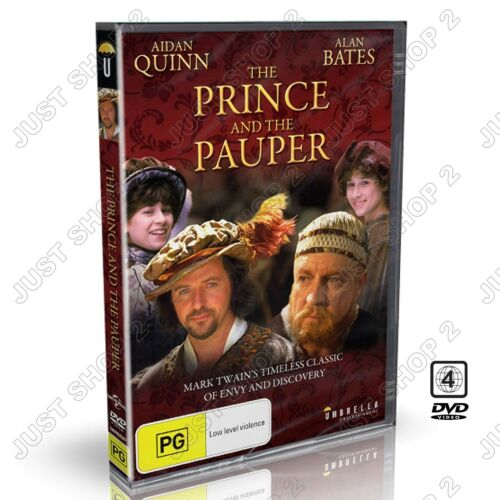 The Prince And The Pauper DVD : TV Movie : Brand New R4