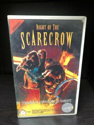 NIGHT OF THE SCARECROW VHS