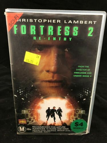 FORTRESS 2 VHS