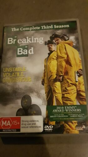 Breaking Bad. complete first season. 3 disc set