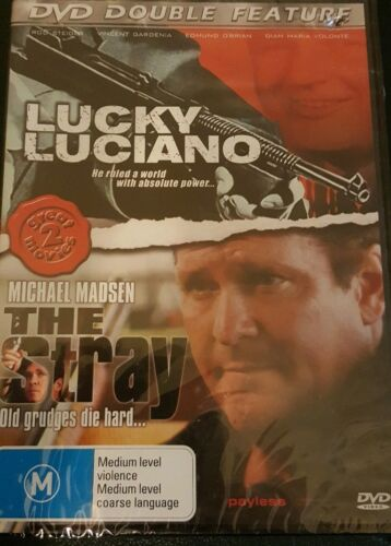 Dvd Double Feature Lucky Luciano And The Stray Factory Sealed