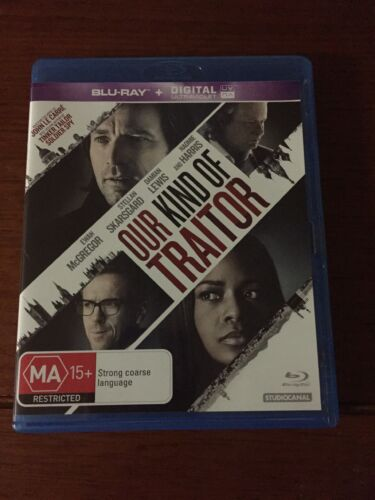 Our Kind Of Traitor Blu-ray Region B Used But In Good Condition Look At Photos