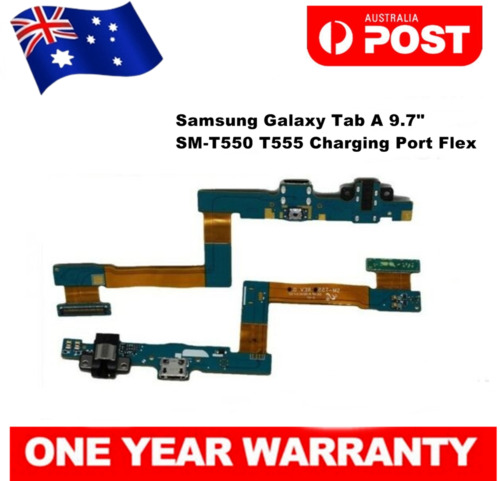 "For Samsung Galaxy Tab A 9.7"" SM-T550 SM-T555 USB Charging Port Flex Cable"