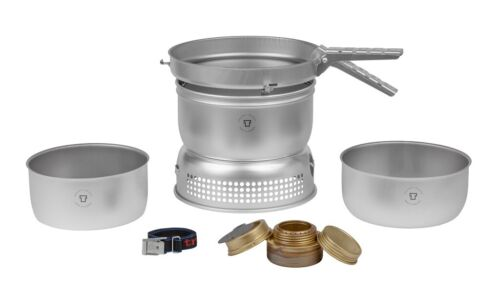 TRANGIA 27-1 ULTRA LIGHT COOKING SYSTEM STORM PROOF COOK SET STOVE CAMPING