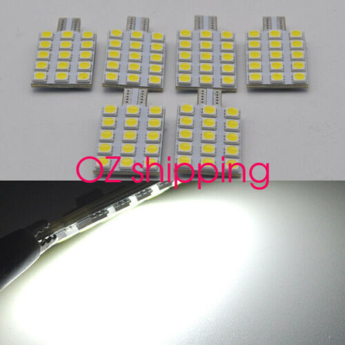 JAYCO NARVA T10 WEDGE 18LED SMD REPLACEMENT BULB x 8