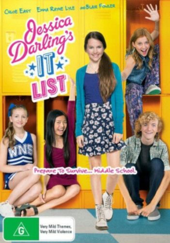Jessica Darling's It List [Region 4] - DVD - New and sealed