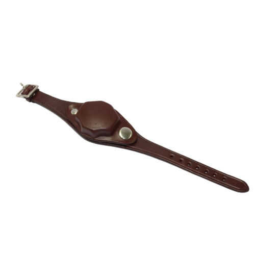 Watch Band and Cover Brown Leather Military Reproduction Watchcover  Other Watch Parts - 10324