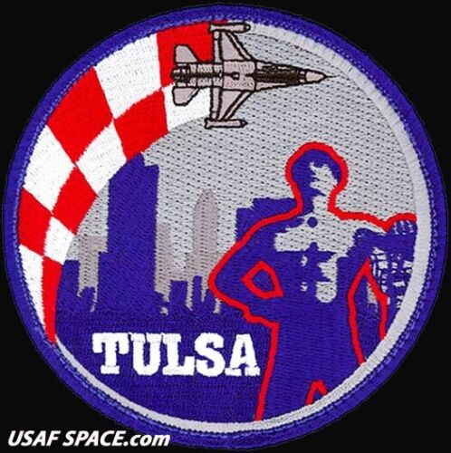 USAF 125th FIGHTER SQUADRON - F-16 - TULSA, ANGB - ORIGINAL AIR FORCE PATCHOther Exploration Missions - 1346