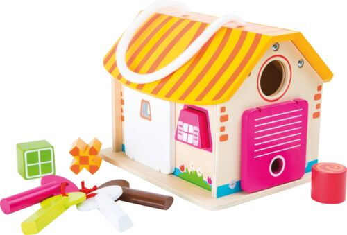 House Motor Skills Trainer by Legler Small Foot Toys