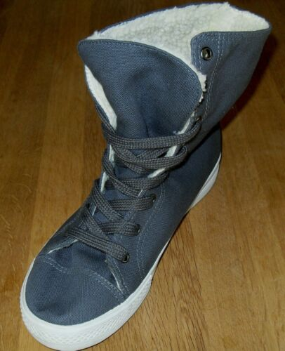 Chilli Pepper Roll Top Womens Charcoal Grey Boots Size UK 4