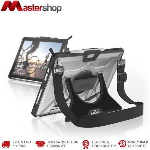 UAG Plasma Case Surface Pro 7th / 6th / 5th / 4th w/ (H/Sh/Strap) Ice / Black