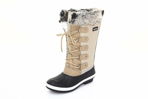 Sand Storm Womens Winter Snow Boots Tall - Insulated Lace-up Closure Quality