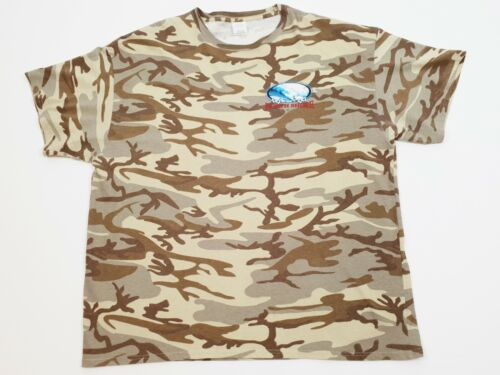 North Shore Hawaii Camouflage T Shirt Size 2XL