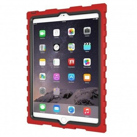 iPad mini Shockdrop rugged kids case, gumdrop hard candy shockproof protection.