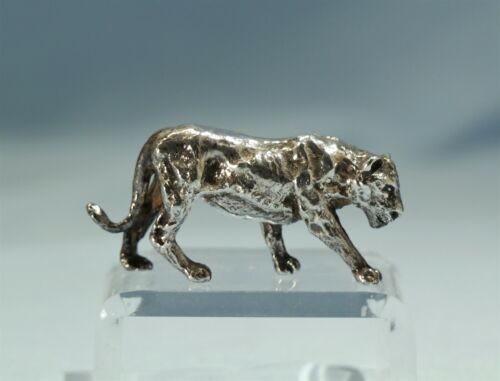 Sterling Silver Figure of a Lioness 20th Century