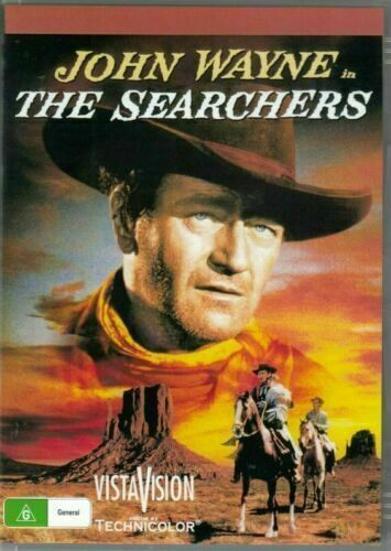 The Searchers DVD John Wayne New and Sealed Australia All Regions