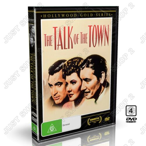 The Talk Of The Town DVD : Cary Grant / Jean Arthur : New DVD