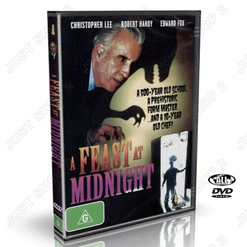 A Feast At Midnight DVD : Christopher Lee : Brand New (Very Rare)