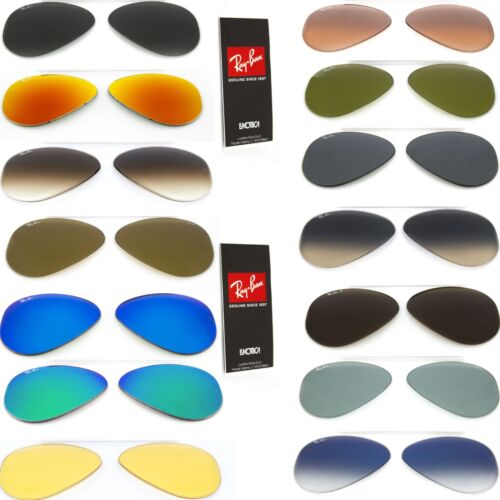 Ray Ban lenti di ricambio 3138 Shooter goccia ricambi replacement ORIGINALI
