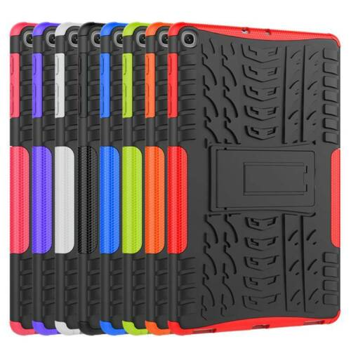 For Samsung Galaxy Tab A E 3 4 S2 S3 S5e Hybrid Rugged Rubber Stand Case Cover