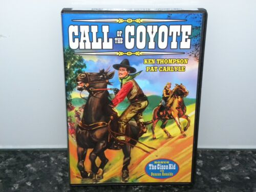 Call of the Coyote - New Sealed - DVD - Region 4 - Western