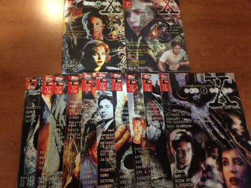 X-FILES da n. 1 a n. 10 + speciale n. 0 e n. 1 MAGIC PRESS RARI perfetti