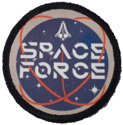 """3"""" Space Force Trump Morale Patch Tactical ARMY Hook Military USA Badge Flag Other Current Military Patches - 36070"""