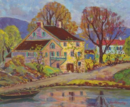 Fern Isabel Coppedge Reflections Canvas Print 16 x 20      #3373