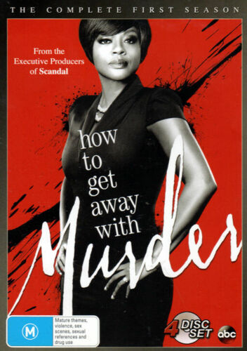 How To Get Away With Murder - The Complete First Season - 4 DVD Set