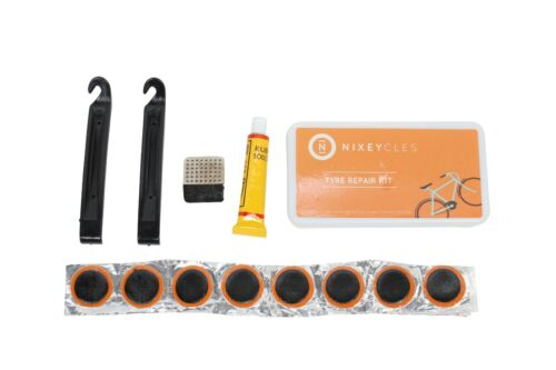 NIXEYCLES Bike Puncture Repair Kit Bicycle Tyre tube Patch Fix